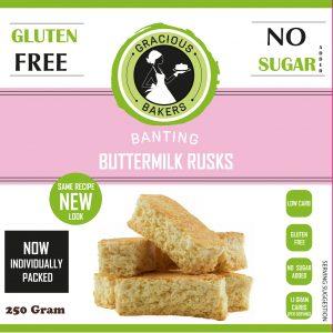 Gracious Bakers — Buttermilk Rusks