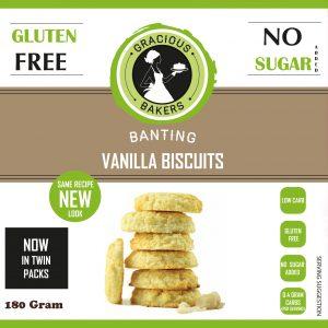 Gracious Bakers — Vanilla Biscuits