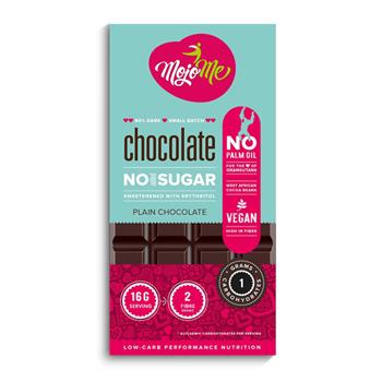 diabetics and low carb online chocolate plain 80g