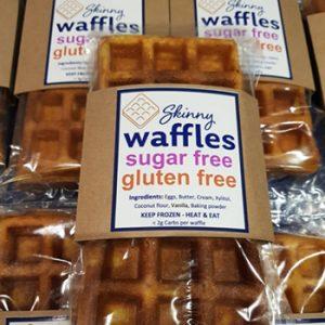 Skinny Waffles – Sugar Free